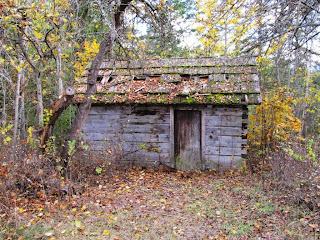 vanha suomalainen sauna White Lakessa