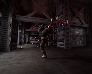 Tremulous is a free, open source game that blends a team based FPS with elements of an RTS. Players can choose from 2 unique races, aliens and humans. Players on both teams are able to build working structures in-game like an RTS. These structures provide many functions, the most important being spawning. The designated builders must ensure there are spawn structures or other players will not be able to rejoin the game after death.