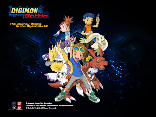 Online Game Digimon Battle: New Digimon, Maps and Events