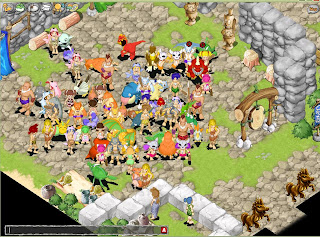 Stone Age 2 is a free-to-play 2D Fantasy MMORPG set in prehistoric times. Stone Age 2 brings a mixture of dinosaurs of unimaginable heights and invisible spirits who help humans roam altered terrains such as dungeons and arid desserts. Catch cute dinosaur pals and raise them to be battle masters and fight primeval threats alongside friendly allies. Duel against other players and creatures by building up your team with a combination of over 200 dinosaur species – each with unique personalities and special abilities. Enter your dinosaur pals into battle tournaments or just ride them around town.