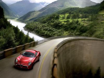 Alfa Romeo 8c Competizione Coupe. Alfa Romeo 8C Competizione