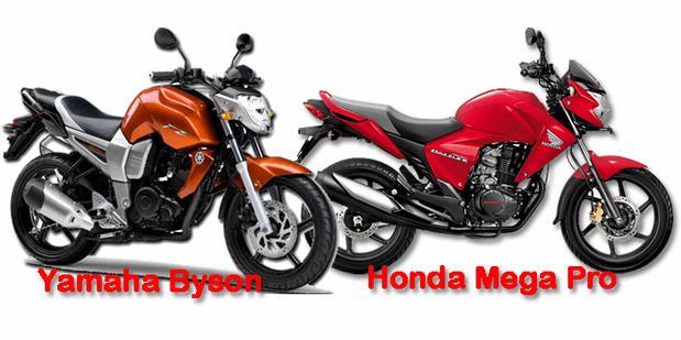 Perbandingan Motor Yamaha Byson Dengan Yamaha Vixion