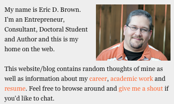 Eric D. Brown on Leadership