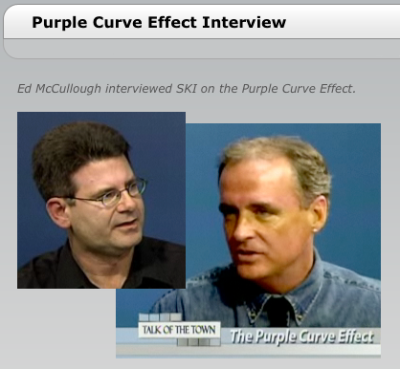 Ed McCullough interviews SKI concerning the Purple Curve Effect