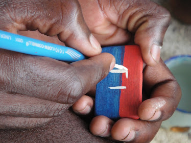 The Haitian Flag!