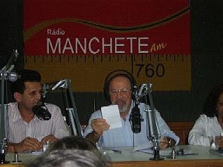 urandir entrevista na radio manchete edmo garcia