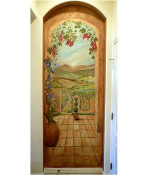 'Tuscany  Landscape'