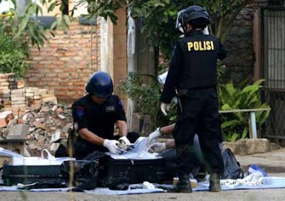 Foto Teroris di Bandung