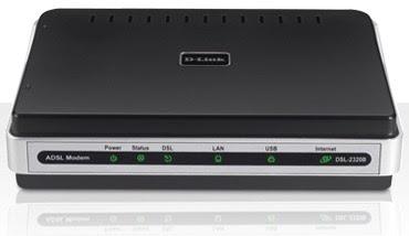 Modem ADSL D-Link 2011