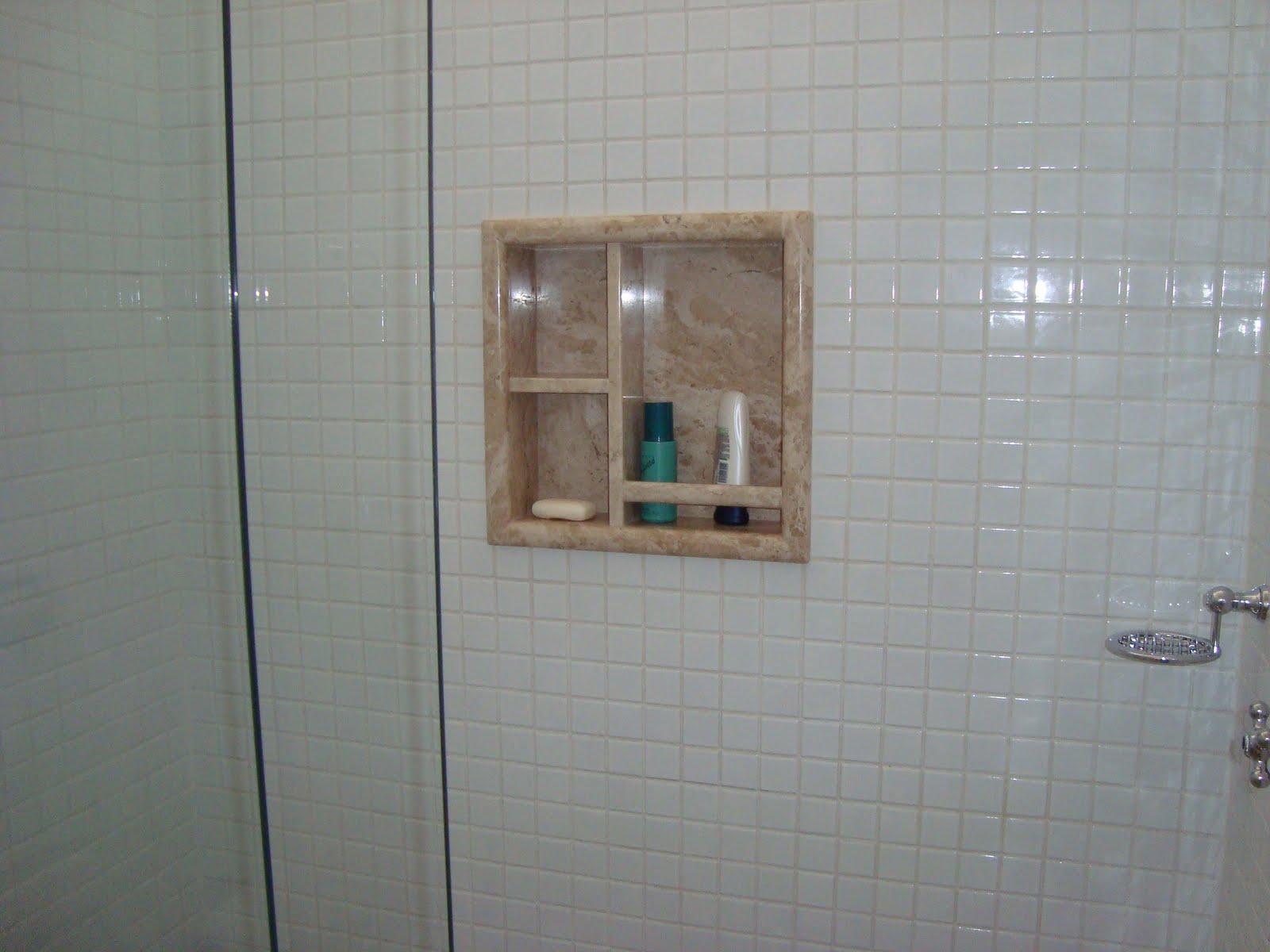 Marmoraria Granart: Nichos de Banheiro #614D40 1600 1200