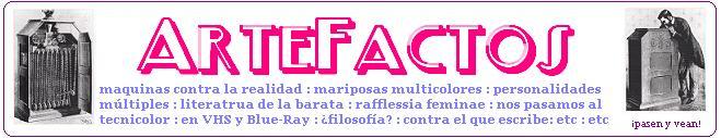 ARTEFACTOS