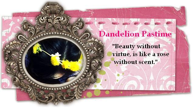 Dandelion Pastime