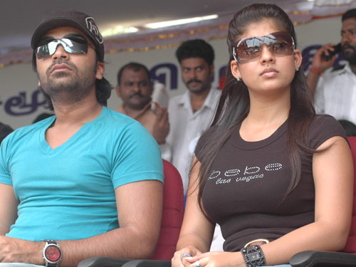 Nayanthara+kiss+with+simbu+video