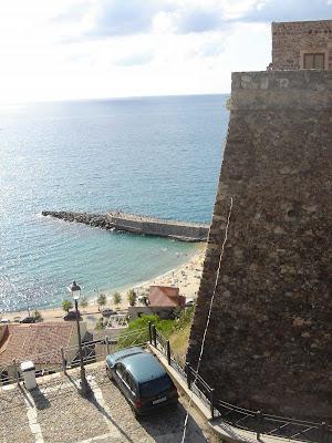 Castello Murat and view of Pizzo Marina