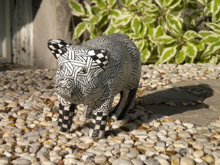 Zentangle Pig