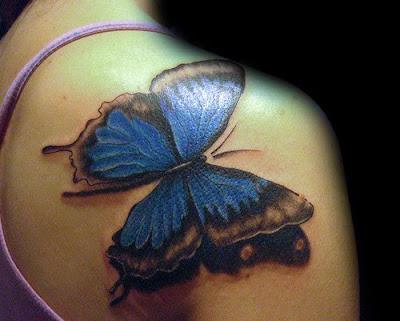 Tatuagem borboletas