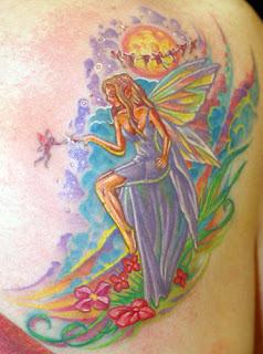 Tatuagem Fadas