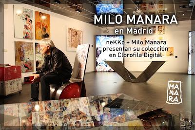 Mobiliario de dise o nekko design milo manara y nekko design revolucionan madrid - Clorofila digital madrid ...