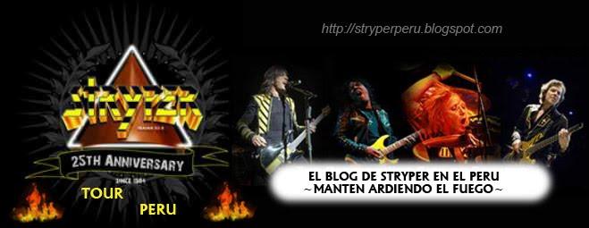 Stryper Peru