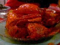 kepiting asam manis masakan indonesia