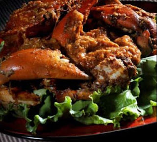 Fried Stir - fry Chilli Crabs Recipe ( Resep Kepiting Saus Pedas )