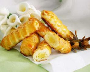 Pia Cheese Twist Recipe ( Resep Pia Keju Lilit )