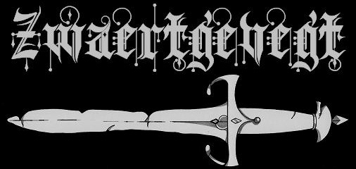 Zwaertgevegt, dutch black metal tape label