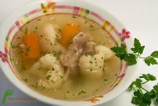 Supa de pui cu conopida 01