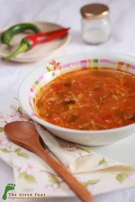 Supa tonica de rosii