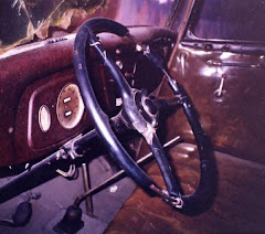 Interior Photo of Bonnie & Clyde Death Car