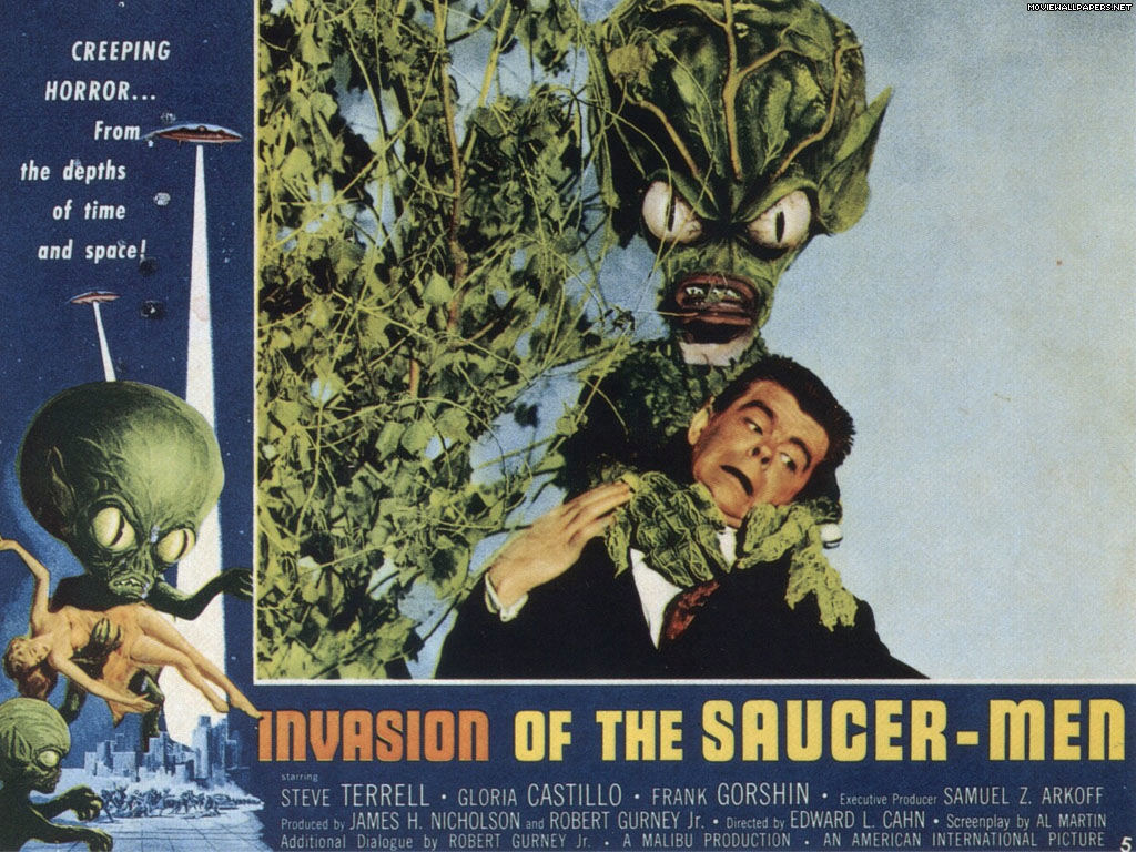 Booze movies the 100 proof film guide review invasion of the saucer