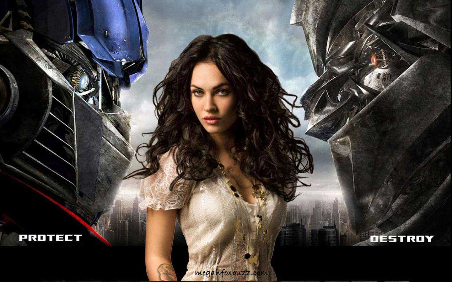 transformers megan fox wallpaper