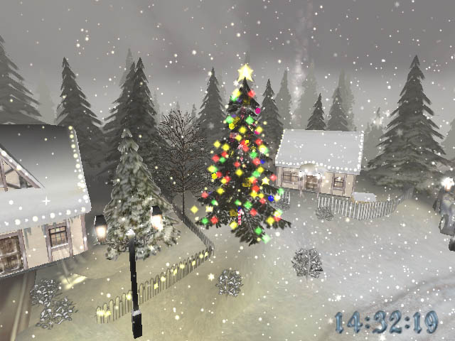 High definition photo and wallpapers christmas for Screensaver natale 3d