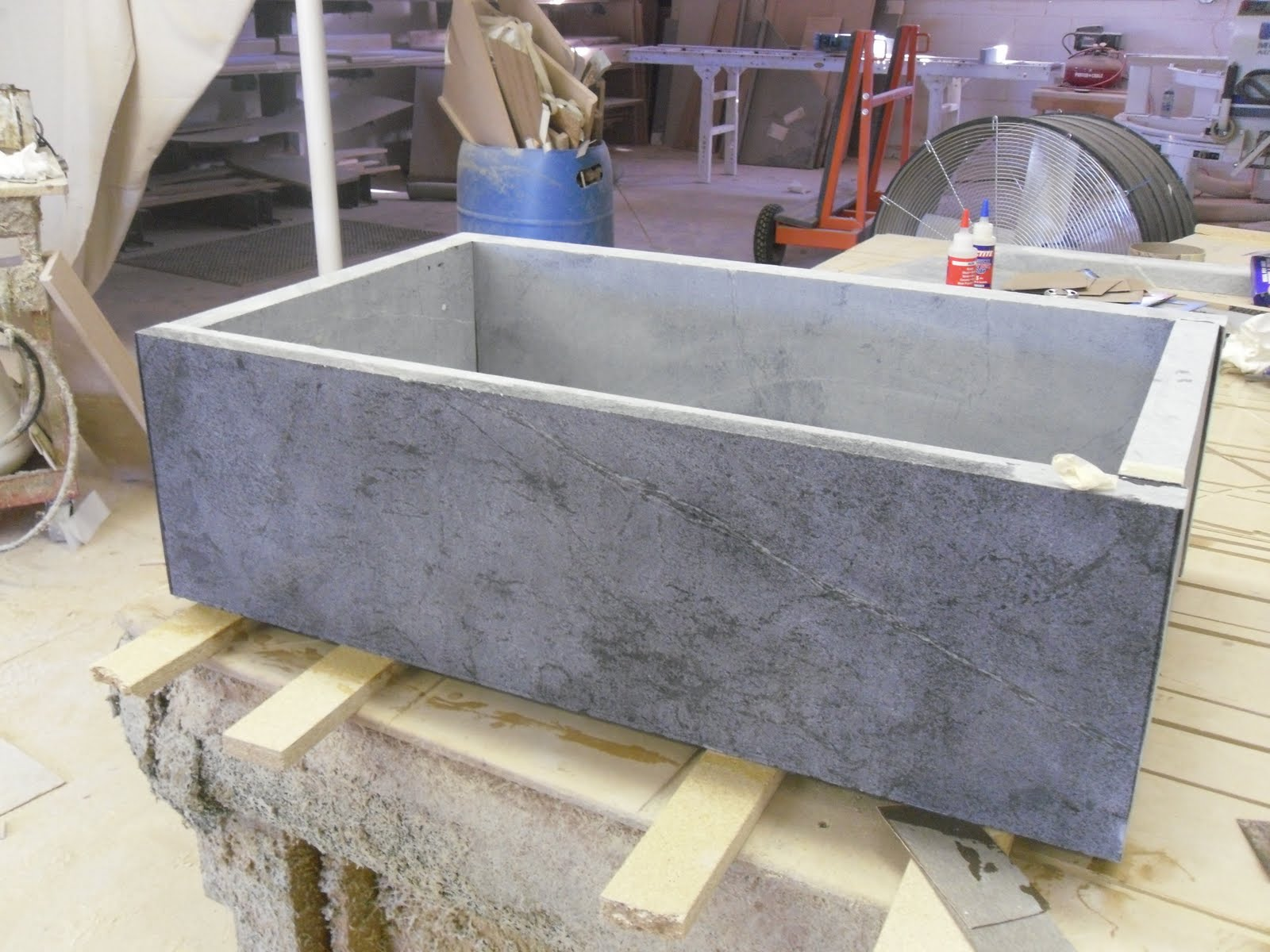 Soapstone Vessel Sink : SOAPSTONE SINKS - SOLID AND SLAB AND CUSTOM SINKS TOO.