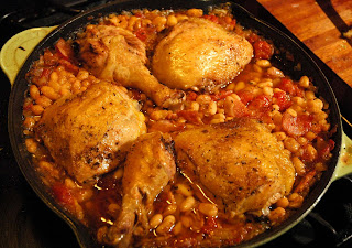 Italian Baked Chicken with White Beans and Tomatoes ...