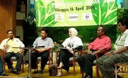 Duta WWF untuk Badak CUla Satu, Marissa Haque Fawzi