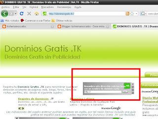 dominios gratis.tk