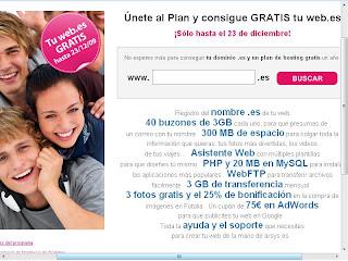 dominios gratis .es