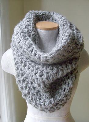 Free Crochet Pattern Hooded Neck Warmer : Queen Heron Creations: Crocheted Cowl Neckwarmers