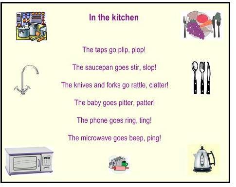 poems for kids. onomatopoeia poems for kids