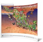 MAPA DEL ARTE POPULAR MEXICANO
