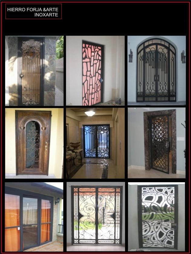 Puertas de hierro en pinterest portones de hierro for Puertas hierro forjado