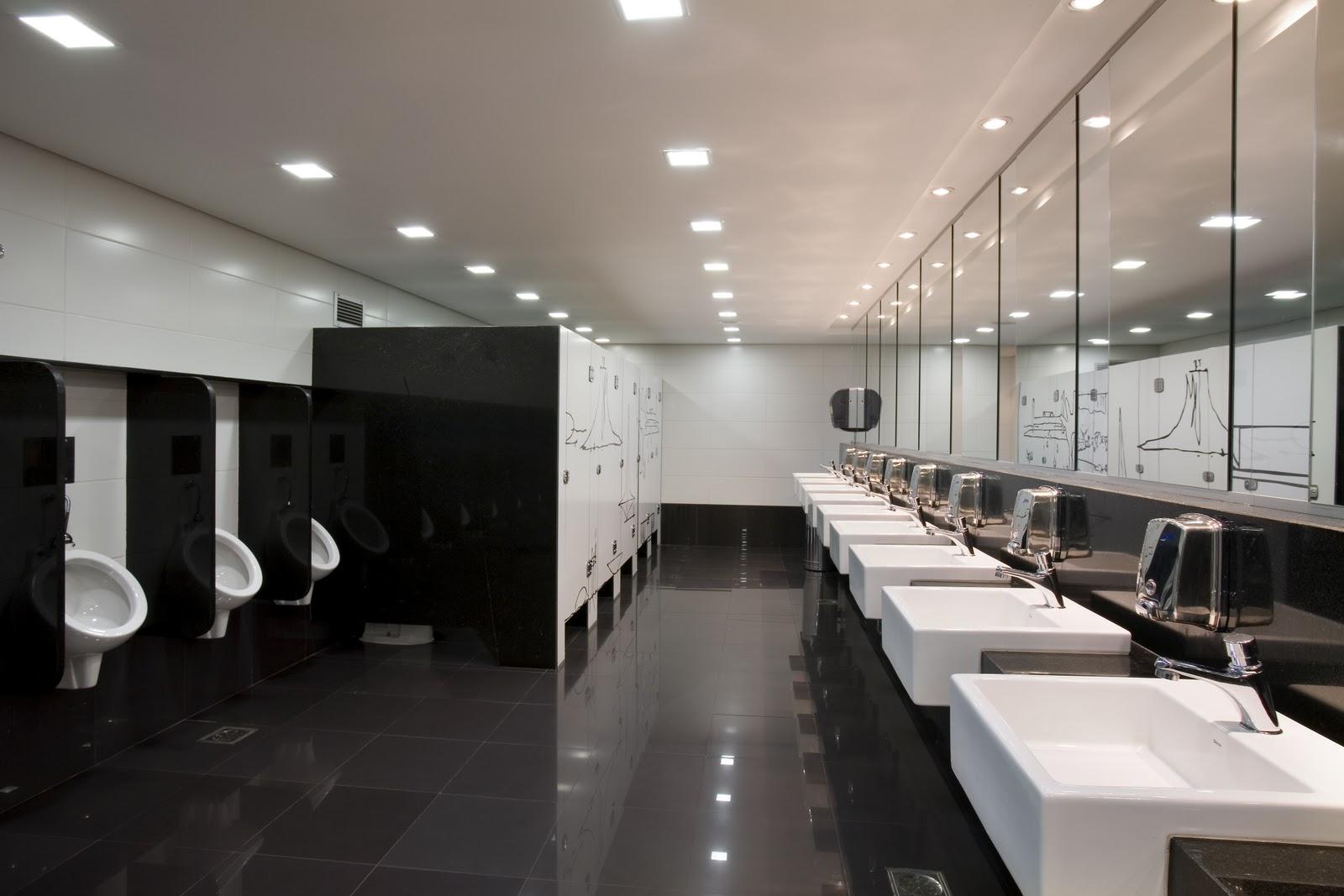 Arquiteto Daltônico: Banheiros Públicos Brasília Shopping #766455 1600 1067