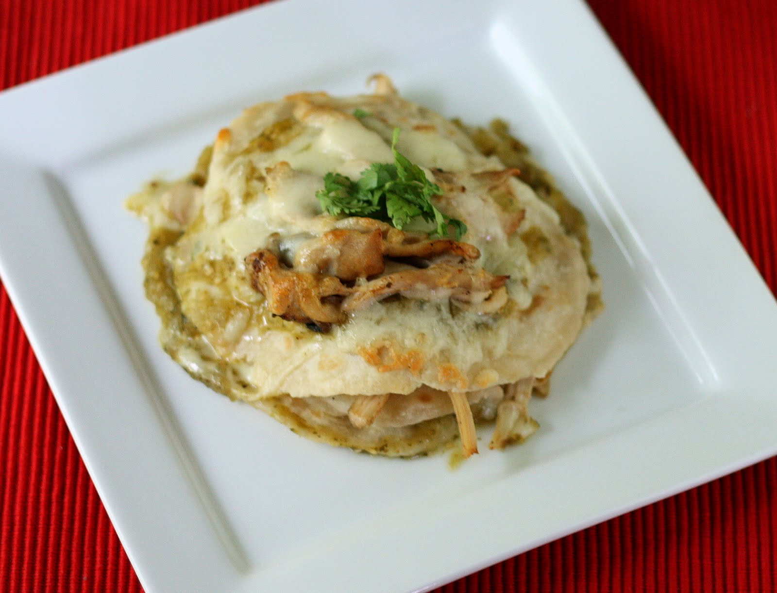 Mangio da Sola: Daring Cooks: Stacked Enchiladas and Giveaway Winner