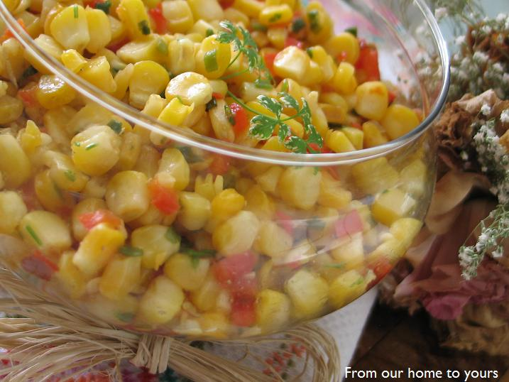 Grilled Corn Salad With Honey Lime Dressing Recipe