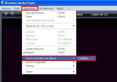 how to change dual audio in windows media player