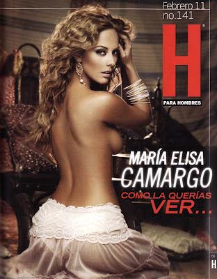 Maria Elisa Camargo Revista H Febrero 2011 [FOTOS] 16