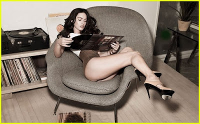 Megan Fox in a Rolling Stone pic
