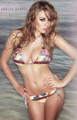 S.S. Keely Hazell Swimsuit Calendar photo