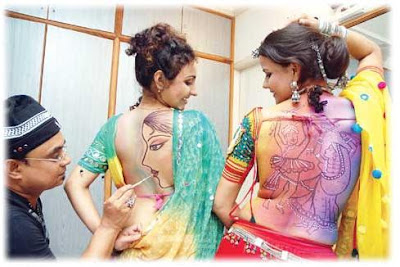 New navratri tattoo pic